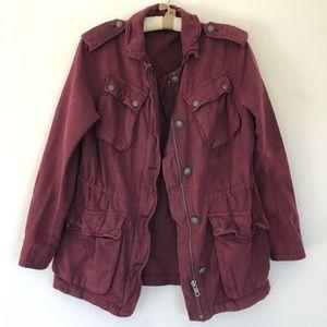 Free People Plum coat